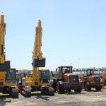 excavators and loaders